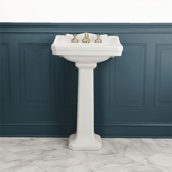 22 Inch Pedestal Bathroom Sink
